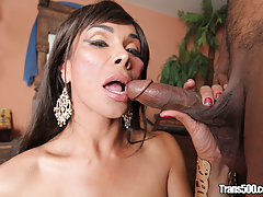 Vaniity loves herself a huge cock in her tight ass!